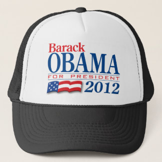 Barack Obama 2012 Apparel Trucker Hat