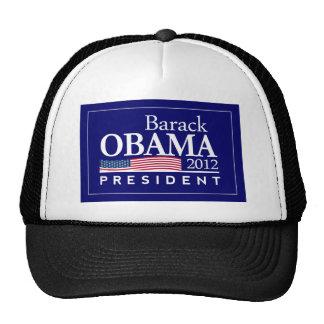 barack obama 2012 president light shirt trucker hat