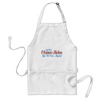 barack obama 2012 re-elect standard apron