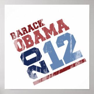 BARACK OBAMA 2012 SWAY Vintage.png Poster