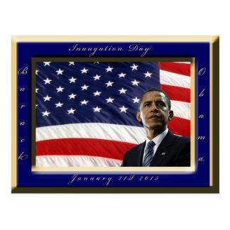 Barack Obama 2013 Presidential Inauguration Postcard
