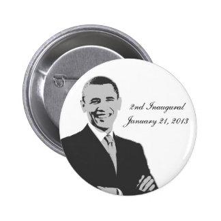 Barack Obama 2nd Inaugural Button