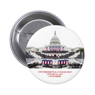"Barack Obama 2nd Inauguration ""I Was There!"" Pin"