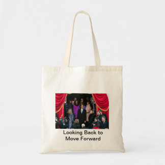Barack Obama 2nd Inauguration-Looking Back Tote Bag