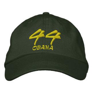 Barack Obama 44th President Black Embroidered Baseball Cap