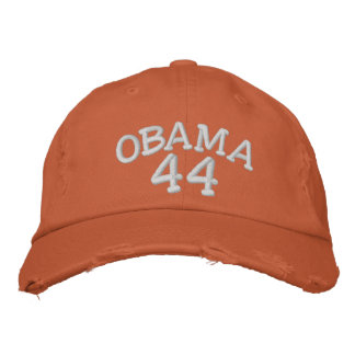 Barack Obama 44th President Embroi... - Customized Embroidered Baseball Caps