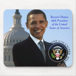 Barack Obama 44th President of the USA Mouse Pad
