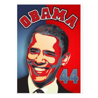 Barack Obama 44th President Postcard