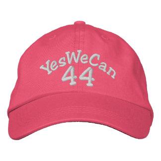 Barack Obama 44th President RED Baseball Cap