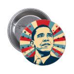 Barack Obama 6 Cm Round Badge