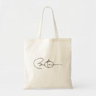 Barack Obama Autograph - Vintage.png Bags