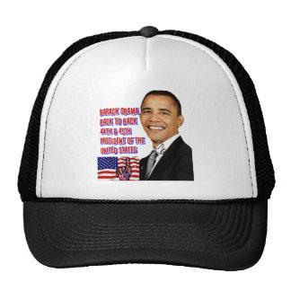 Barack Obama,Back To Back_ Mesh Hats