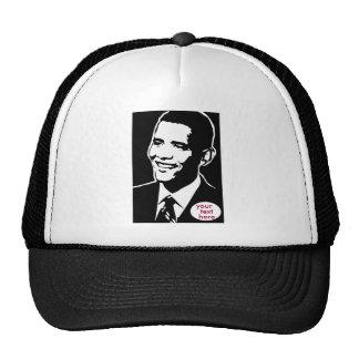 Barack Obama Ball Cap Mesh Hat