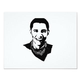 Barack Obama Bandana Personalized Invitations