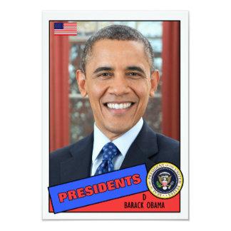 Barack Obama Baseball Card Announcement