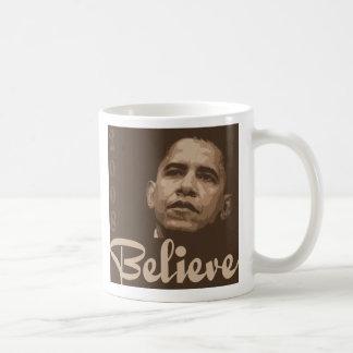 barack Obama Believe Mug