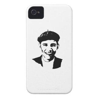 BARACK OBAMA BERET -.png Case-Mate iPhone 4 Case