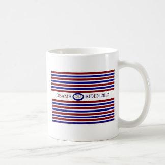 BARACK OBAMA BIDEN COFFEE CUP BASIC WHITE MUG