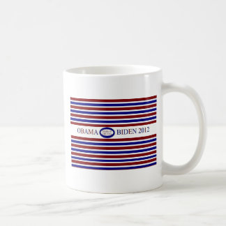 BARACK OBAMA BIDEN COFFEE CUP CLASSIC WHITE COFFEE MUG