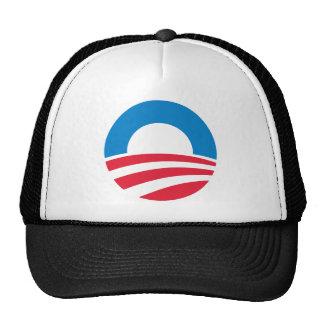 Barack Obama Biden O Logo Mesh Hats