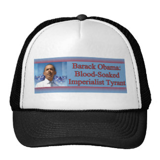Barack Obama: Blood-Soaked Hats