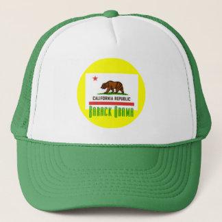 Barack Obama CA Flag Hat