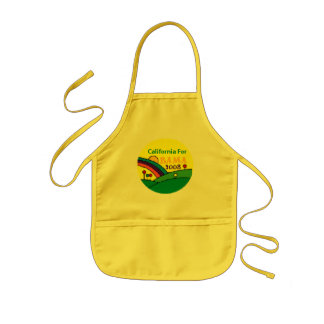 Barack Obama California Rainbow Kids Apron