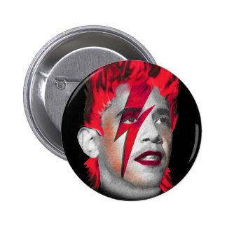 Barack Obama Changes Pins