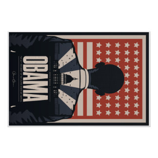 Barack Obama Commemorative Poster