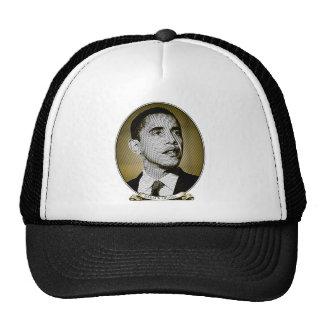 Barack Obama Dollar Portrait Trucker Hats