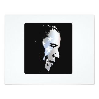 Barack Obama Face Custom Invitation