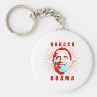 Barack Obama Face T-shirt Key Chain