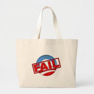 Barack Obama FAIL Tote Bags