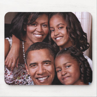 Barack Obama, Family Love_Mousepad Mouse Pad