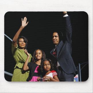 Barack Obama Family Mouse Pad