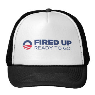 Barack Obama Fired Up Ready To Go Cap