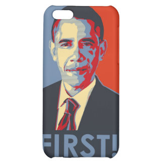 """Barack Obama """"FIRST!"""" iphone case Cover For iPhone 5C"""