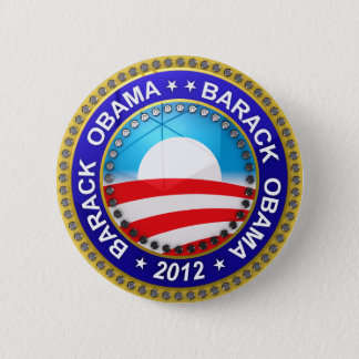 Barack Obama for president 2012 6 Cm Round Badge