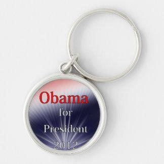 Barack Obama For President Dulled Explosion Keychains