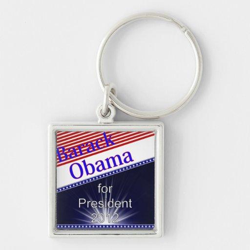Barack Obama For President Explosion Keychains