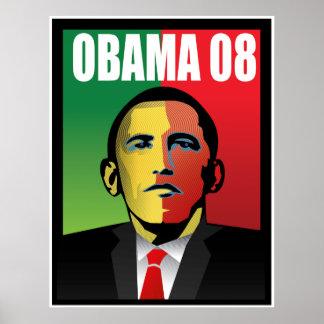 Barack Obama For President Poster