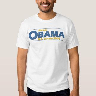 Barack Obama for U.S. Senate 2004 from Illinois Tshirts