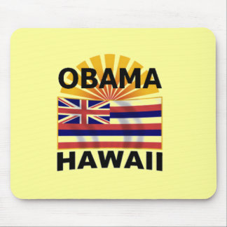 Barack Obama Hawaii Mousepad