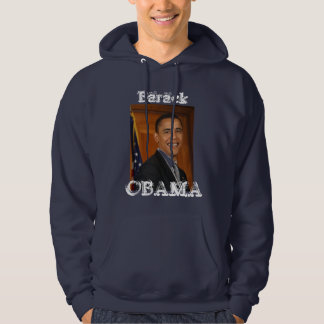 "Barack, OBAMA  Hoody. ""Yes We Can"" Hoodies"