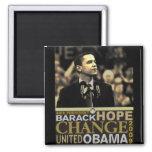 Barack Obama Hope Square Magnet