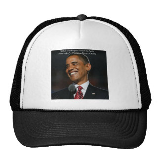 Barack Obama & Humor Quote Gifts & Cards Cap