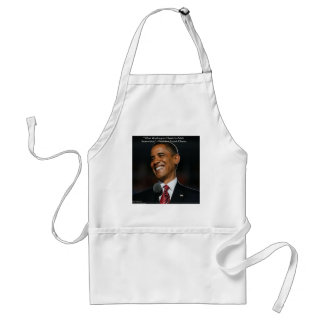Barack Obama & Humor Quote Gifts & Cards Standard Apron