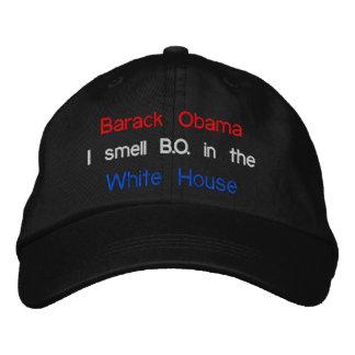 Barack Obama, I smell B.O. in the, White House Baseball Cap