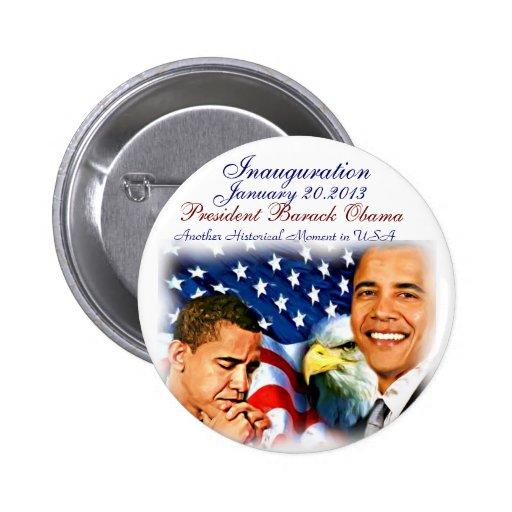Barack Obama Inauguration2013_Button Pin
