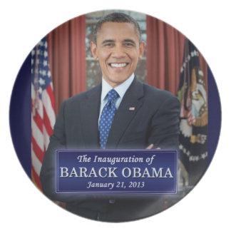 Barack Obama Inauguration 2013 Party Plates
